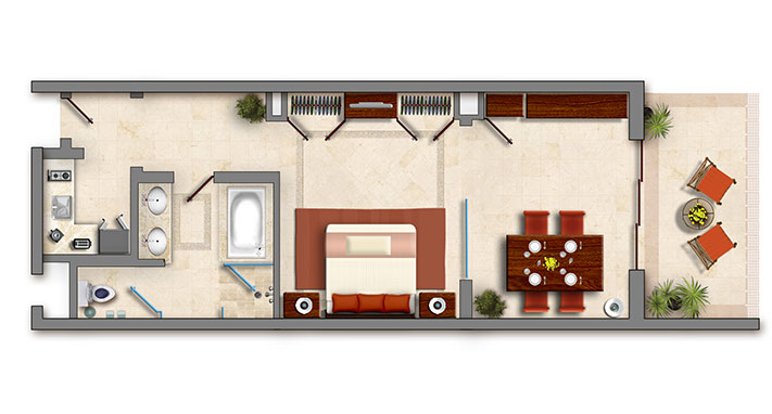 Master Suite Grand Solmar 6